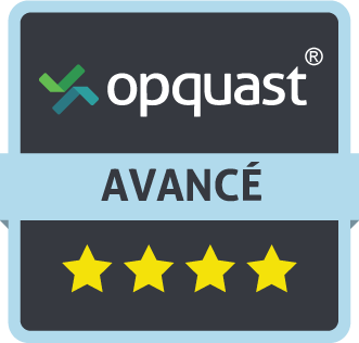 adge de certification Opquast Jean-François Morin - niveau Avancé